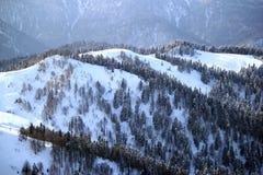 Montagne in polyana di Krasnaya Fotografia Stock Libera da Diritti