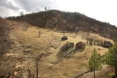 Montagne près de station d'ider de  de TopÑ serbia photographie stock