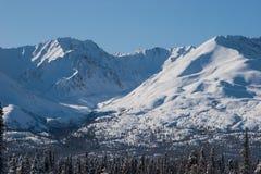 Montagne in primavera in anticipo Immagine Stock