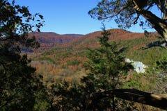 Montagne Ridge de chute image libre de droits