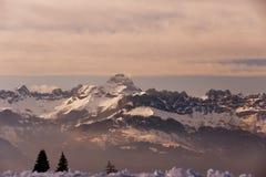 Montagne rocciose fotografia stock