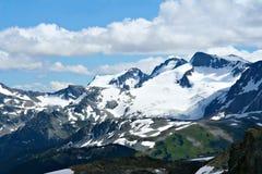 Montagne rocciose Fotografie Stock