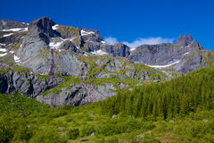 Montagne rocciose Fotografia Stock Libera da Diritti