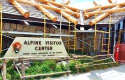 Montagne rocciose alpine di colorado S.U.A. del centro dell'ospite Fotografia Stock Libera da Diritti