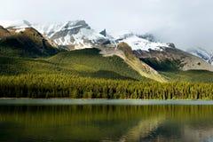 Montagne Rocciose canadesi Immagini Stock