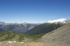 Montagne rocciose canadesi Immagine Stock