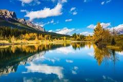 Montagne Rocciose canadesi Immagine Stock Libera da Diritti