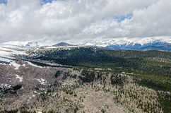Montagne rocciose del Colorado Fotografia Stock Libera da Diritti