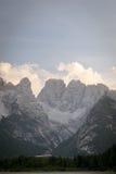 Montagne rocciose maestose Fotografie Stock