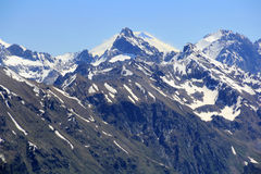 Montagne Rocciose nella regione di Caucaso in Russia Immagine Stock Libera da Diritti