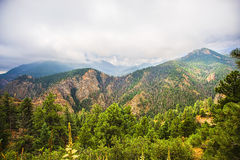 Montagne rocheuse du Colorado scénique Images stock