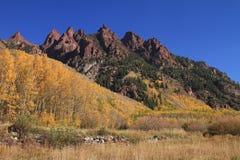 Montagne rocheuse haute Image libre de droits
