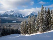 Montagne rocheuse Piste Photographie stock libre de droits