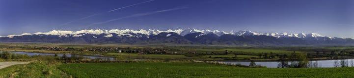 Montagne Romania di Fagaras Fotografie Stock Libere da Diritti
