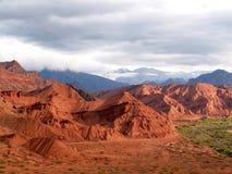 Montagne rosse immagini stock libere da diritti