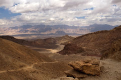 Montagne rosse di Eilat Fotografie Stock