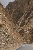 Montagne Route Homme biking image libre de droits