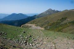 Montagne in Roza Khutor Immagini Stock Libere da Diritti