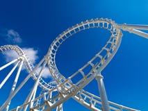 Montagne russe bianche Fotografie Stock Libere da Diritti