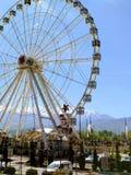Montagne russe de Kazakhstan images stock