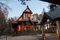 Montagne sainte Grabarka, Siemiatycze, Podlasie, Pologne images stock