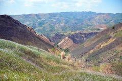 Montagne sans des arbres Photos stock