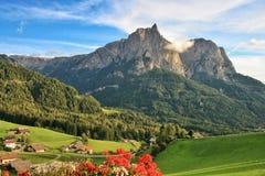 Montagne Schlern Photos stock
