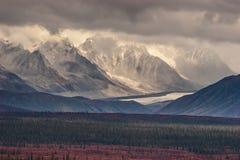 Montagne scolpite Fotografia Stock Libera da Diritti