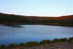 Montagne Serene Landscape Lake del Big Horn immagini stock