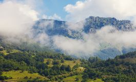 Montagne serene nei Balcani Fotografie Stock Libere da Diritti