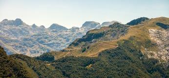 Montagne serene nei Balcani Fotografia Stock