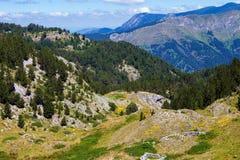Montagne serene nei Balcani Fotografia Stock Libera da Diritti