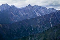 Montagne in Siberia orientale Fotografie Stock