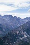 Montagne in Siberia orientale Fotografie Stock Libere da Diritti