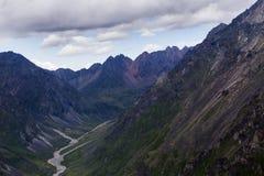 Montagne in Siberia orientale Immagini Stock