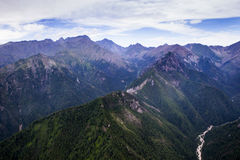 Montagne in Siberia orientale Fotografia Stock Libera da Diritti