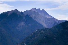 Montagne in Siberia orientale Immagine Stock