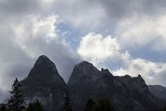 Montagne, Sinaia Immagine Stock