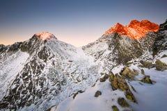 Montagne slovacche Fotografie Stock Libere da Diritti