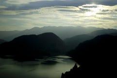 Montagne in Slovenia Immagine Stock Libera da Diritti