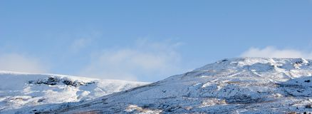 Montagne Snowcapped Fotografia Stock