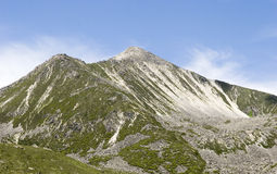 Montagne sous le ciel 6 Photos libres de droits