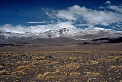 Montagne su Altiplano in Bolivia, Bolivia Immagini Stock Libere da Diritti
