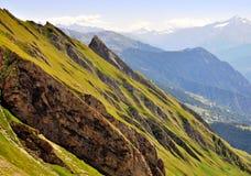 Montagne su estate Fotografia Stock Libera da Diritti