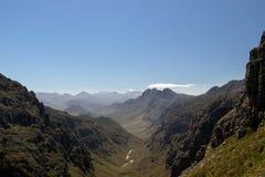 Montagne Sudafrica di Jonkershoek immagini stock libere da diritti