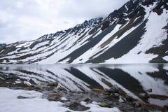 montagne Suisse de lac Images stock