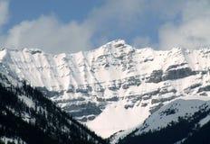 Montagne sul livello Fotografia Stock
