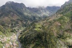 Montagne sull'isola della Madera Fotografia Stock Libera da Diritti