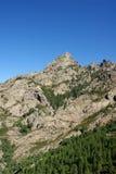 Montagne sur la Corse Image libre de droits
