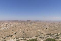 Montagne sur le désert Photos libres de droits